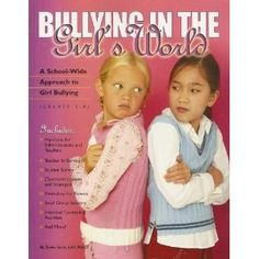 Girl bullying / relationally aggressive behavior appears to be motivated by underlying fear and insecurity. This book provides a school-based approach to girl bullying that includes class lessons, small group activities and ideas for individual counseling.