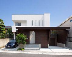 แบบบ้าน 2 ชั้น สไตล์โมเดิร์น แนวญี่ปุ่น