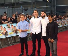 Chris, Simon, Josh & Vikk at Laid in America Premiere