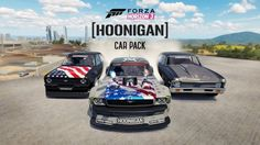 Coming August 15th, the Forza Horizon 3 Hoonigan Car pack brings seven of the most iconic Hoonigan cars to Forza Horizon 3. Rip through the outback in cars like the 1965 Ford Mustang Hoonicorn RTR V2 and the 1992 Mazda RX-7 Twerkstallion. For a limited time, pre-order Forza Motorsport 7 and receive the Hoonigan Car pack for free in Forza Horizon 3 starting August 15th and in Forza Motorsport 7 at launch!