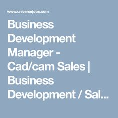 Looking for Business Development Manager - Cad/cam Sales job?, we have opening in Business Development / Sales. required 3 years in Business Development / Sales field. Sales Jobs, Cad Cam, Looking For A Job, Marketing Jobs, Focus On Yourself, How To Stay Motivated, Job Search, Management, Motivation
