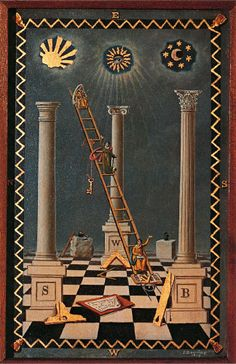 """In Masonic symbolism, the sun represents the imperishable spirit, immaterial gold. In many Masonic temples, it is drawn in the east, from where the Master of the Lodge directs proceedings."" ~ Alchemy and Mysticism Masonic Art, Masonic Lodge, Masonic Symbols, Illuminati, Occult Art, Freemasonry, Knights Templar, Ancient Art, Ancient History"