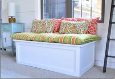 How to create DIY window seat cushion