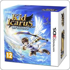 3DS Kid Icarus Uprising (jogo + stand) R$139.90