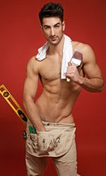 Brandon Rubendall from Broadway Bares.