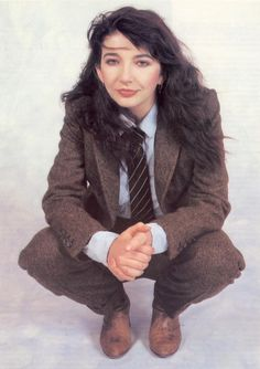 Kate Bush. Because she'd never, ever, turn up at the Olympics. Duh. / androgyny in music