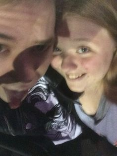 Me with Eli at the forum 11/15/14