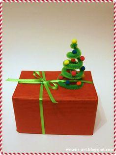 mini Christmas Tree wesens-art.blogspot.com