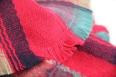 Écharpe tartan pour femme
