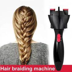 [S$28.00](▼72%)Automatic Hair Braider Braiding Machine Rapid DIY Hair Weaven Flowers Magic Twist Braid Maker Hair Styling Tools