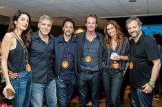 Amal and george with U2