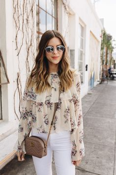Talking about the trend for spring florals and shopping some of my favorite floral pieces | Los Angeles Fashion and Lifestyle Blogger