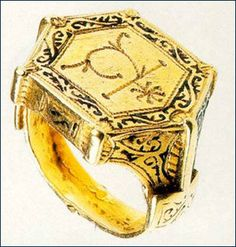 Ring 13th century Russian Museum