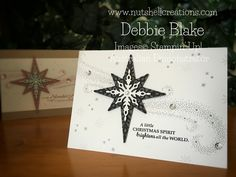 Debbie Blake Independent Stampin' Up! Demonstrator Australia. Star of Light…