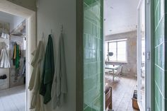 The holes and issues in the structure have been fixed, but the apartment retains its character.