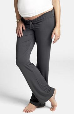 Ingrid & Isabel® Maternity Lounge Pants available at #Nordstrom. I need these in every color they make!!!