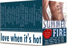 Smut Fanatics: Summer Fire: Love When It's Hot Box Set Release Day Blitz & Giveaway!!