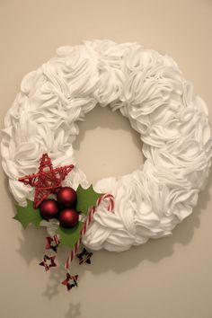 white wreath  this is different....