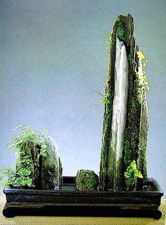 Saikei - mo-yogi de bonsai en satsuki bonsai website van nederland