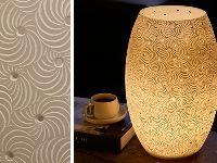 Paragon Sand dune electric lamp H42cm