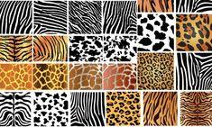 XOO Plate :: Animal Skin Patterns Vector Background - Large variety of vector animal skin patterns. Patterns In Nature, Textures Patterns, Print Patterns, Pattern Designs, Print Wallpaper, Animal Wallpaper, Texture Vector, Texture Art, Vector Background
