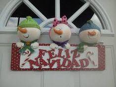 Resultado de imagen para muñeco de nieve de pasta francesa