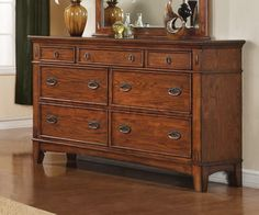 Love this one Homemakers Furniture Mission Style Mule Dresser