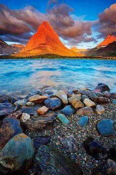 Sunset Peak Glacier National park Montana