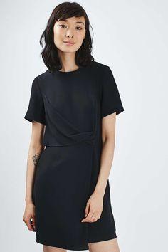 Drape Shift Dress - Topshop