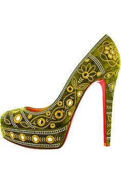Christian Louboutin Olive Bollywood