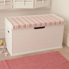 toy box/window bench. Every little kid needs a toy box!