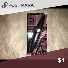 Maybelline mascara. Lash sensational, brownish black mascara. brand new. Maybelline Makeup Mascara