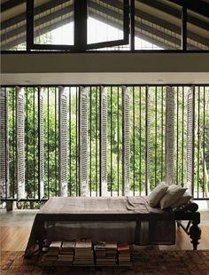 living moderno tropical por potencias richard via: escapeblog
