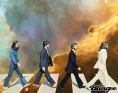 The Beatles, Abbey Road | 11 Blingee Versions Of Famous Album Covers
