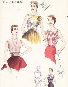 50s Vogue Pattern #8493