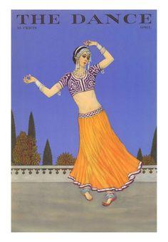 История вещей, костюма, искусства, мебели, интерьера и быта от художника кино. - Танец в старой журнальной иллюстрации и постерах