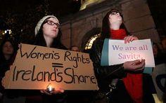 Catholic Church teachings and power kill woman in Ireland -