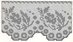 Crocheted motif no. Crochet Borders, Crochet Motif, Irish Crochet, Crochet Doilies, Crochet Stitches, Free Crochet, Sewing Patterns, Crochet Patterns, Fillet Crochet