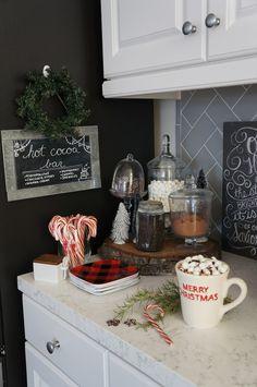 Perfecting the Homefront: Christmas Cocoa Bar/ Hot Chocolate Bar