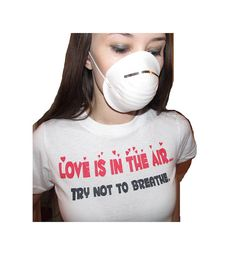 Anti Valentine's Day Shirt Love Is In by NudeAndLoiteringTees