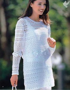 Maravilloso túnica blanca como la nieve. Debate sobre LiveInternet - Servicio Ruso diario en línea