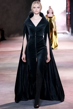 Ulyana Sergeenko Fall 2013 Couture Fashion Show - Nastya Kusakina (Women)