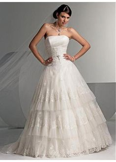 LACE BRIDESMAID PARTY BALL EVENING COCKTAIL GOWN IVORY WHITE FORMAL PROM BRIDAL ELEGANT EXQUISITE WEDDING DRESS