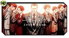 Joker Game - Review | Análise | Crítica do Anime