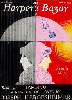 Erté for Harper's Bazaar. March 1926