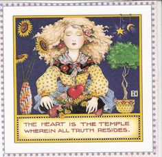 The Heart Is The Temple Wherein All Truth Resides
