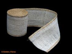 Natural Rustic Jute Burlap Hessian Ribbon Weddings Belting Strap Craft Floristry | eBay