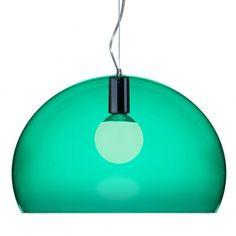 FL/Y pendant lamp, emerald