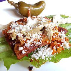 Enchiladas placeras cocina de #Michoacan en Santo Coyote