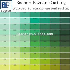 Pin By Hsinda Powder Coating On Powder Coating Color Chart